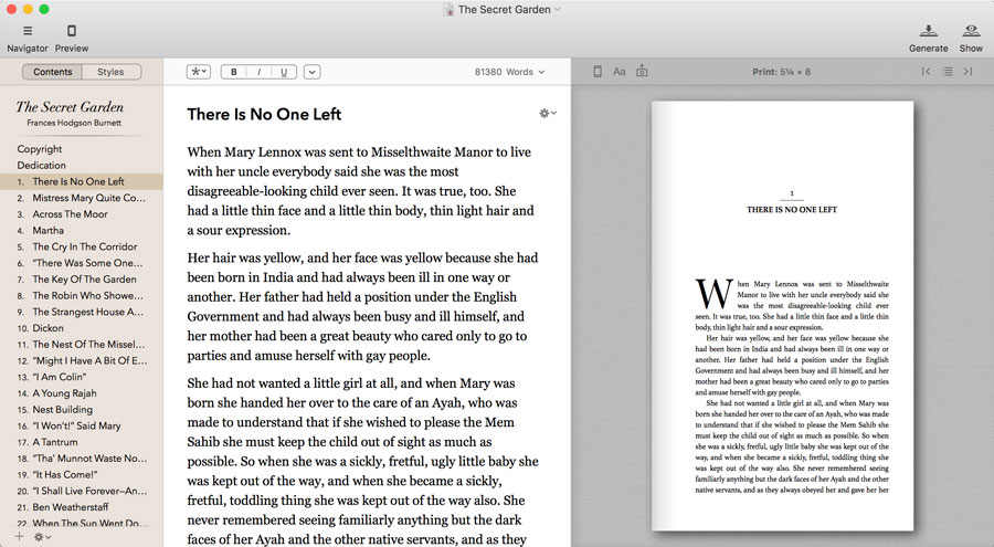 Vellum for Kindle Format -- how to save an original e-book in a Kindle book format
