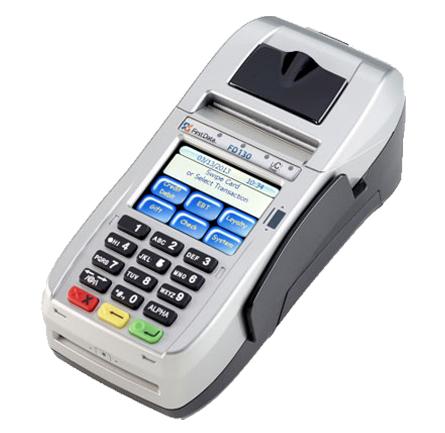 First Data® FD130 Terminal from Cayan - smart terminal receipt printer
