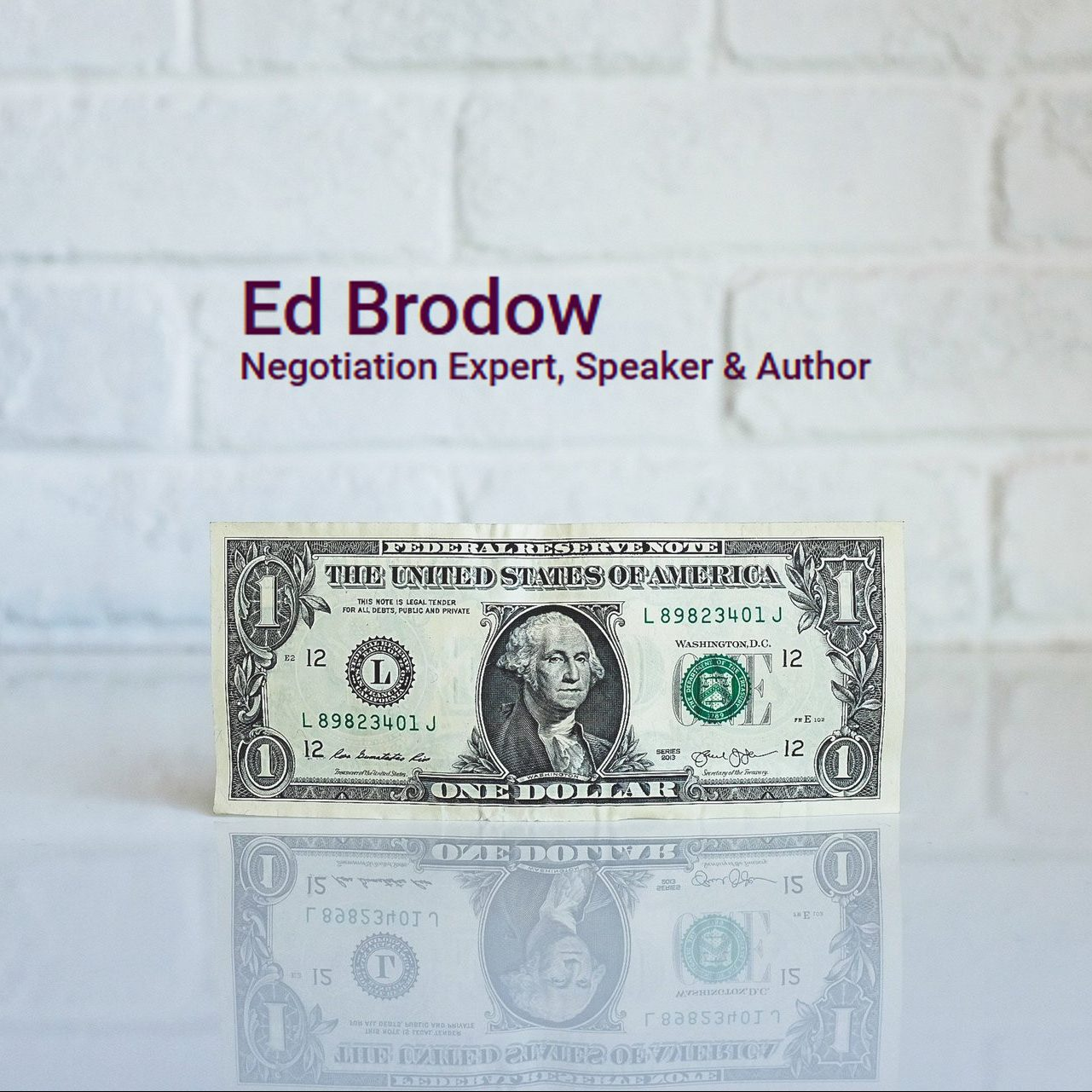 Ed Brodow - business negotiation