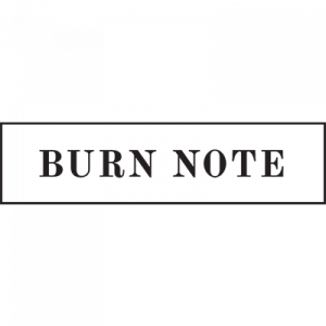 Burn Note - Graveyard - Website Design - Development Software