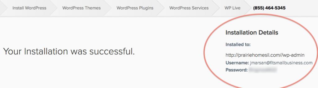 IDX Real Estate Websites -WordPress Screenshot - install