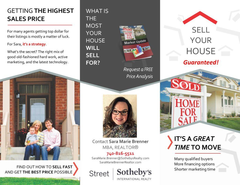 Sarah Brenner - real estate mailers - Tips from the pros