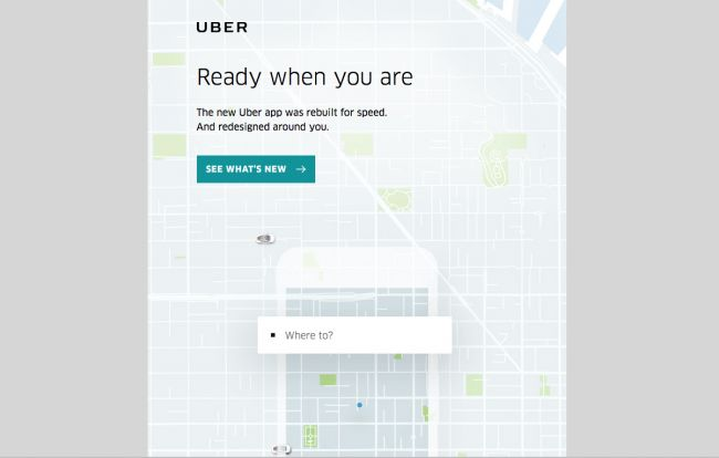 Uber - email newsletter templates - Tips from the pros