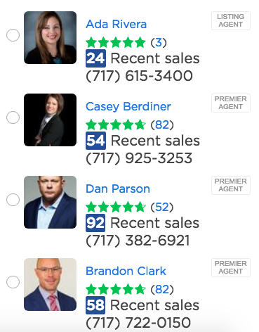 Zillow - real estate marketing materials