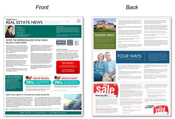 ProspectsPLUS! - real estate marketing materials