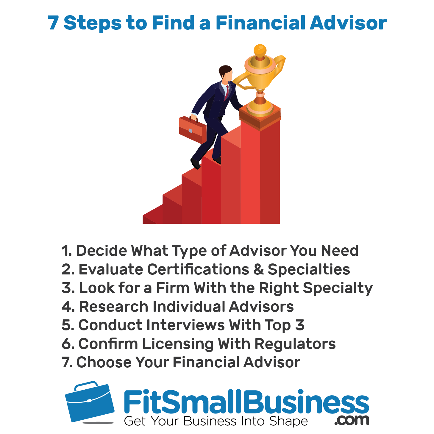 7 Steps to Find a Financial Advisor - financial advisor