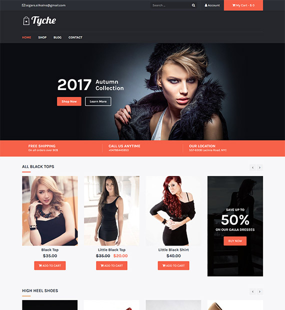 Tyche - woocommerce themes