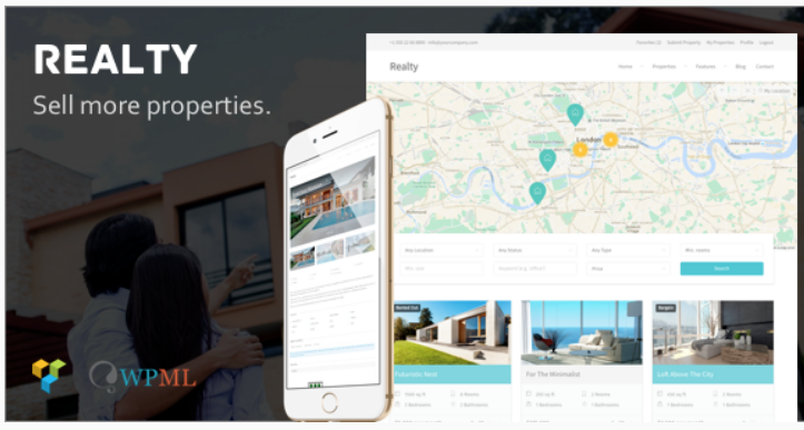 Realty - real estate website templates