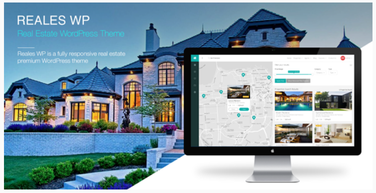 Reales WP - real estate website templates