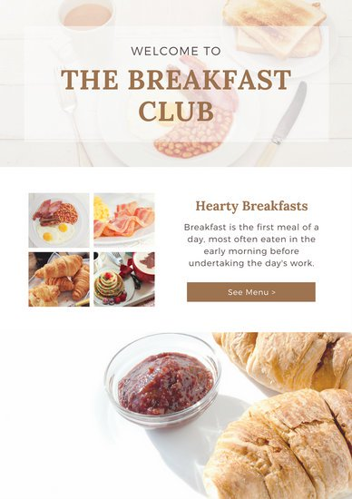 Cafe and Bistro - email newsletter templates - Tips from the pros