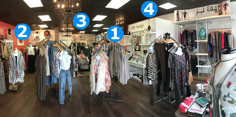 retail lighting - 4-step lighting plan