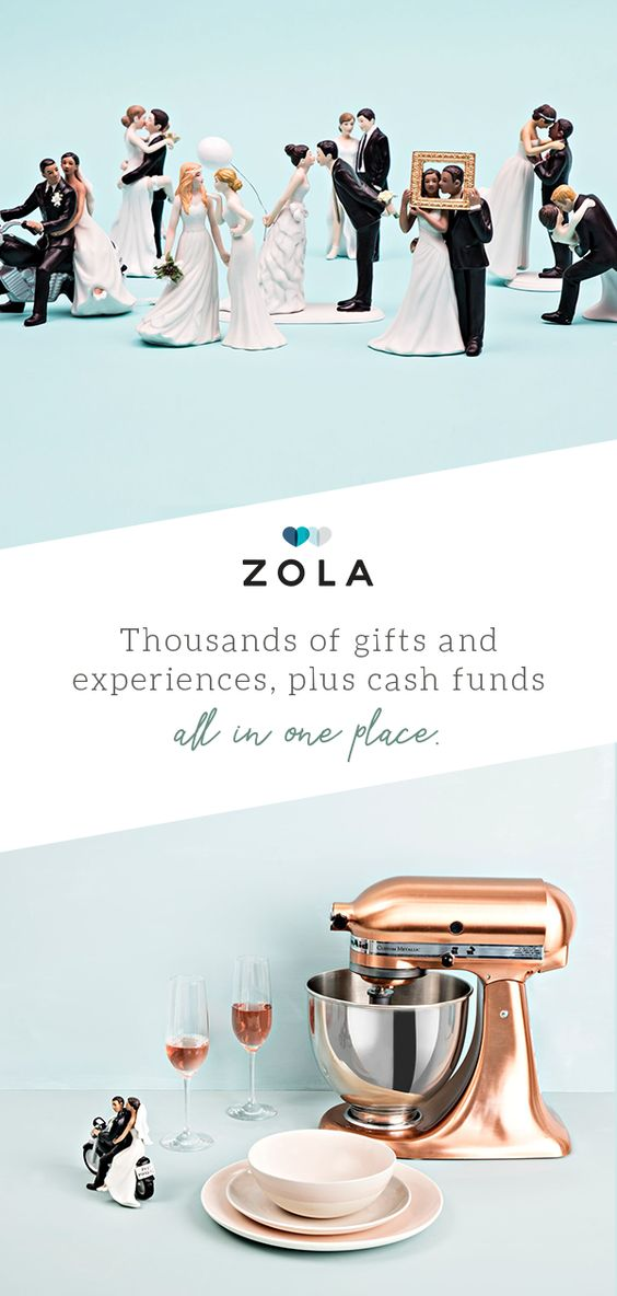 Zola Gift Registry - pinterest ad examples - Tips from the pros