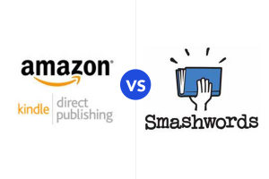 Kindle Direct Publishing review vs Smashwords review -- how to sell ebooks online