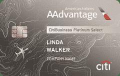 CitiBusiness AAdvantage Platinum Select World Mastercard