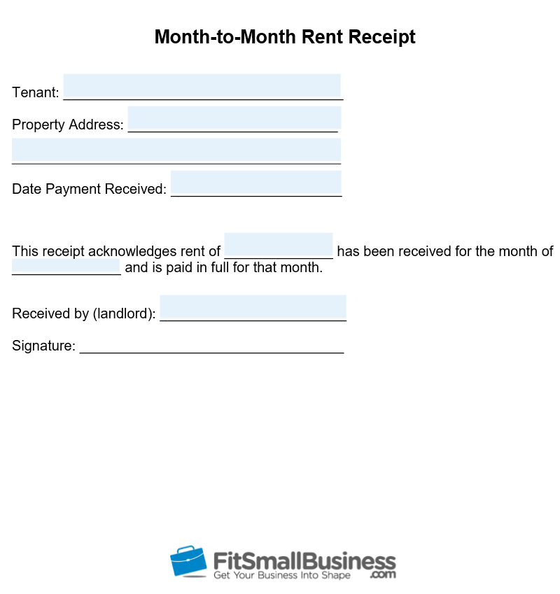 photograph regarding Printable Receipt Template referred to as Cost-free Printable Lease Receipt Template Down load
