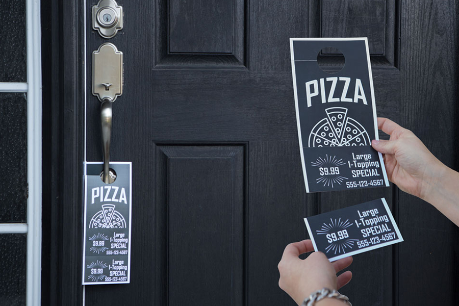 Top 25 Free Paid Door Hanger Templates
