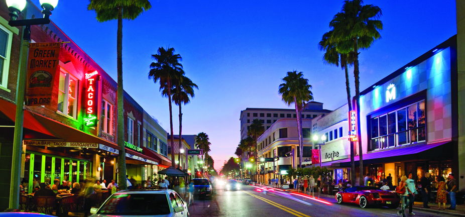Downtown West Palm Beach - cheapest cities for business travel
