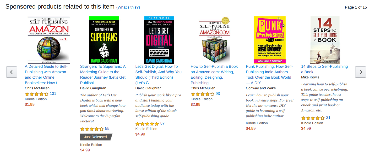 Amazon's Product Display Ads - kindle direct publishing