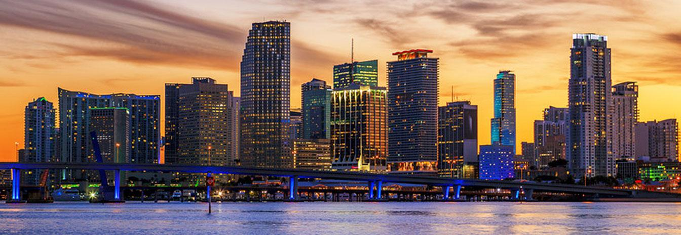 Downtown Miami - cheapest cities for business travel