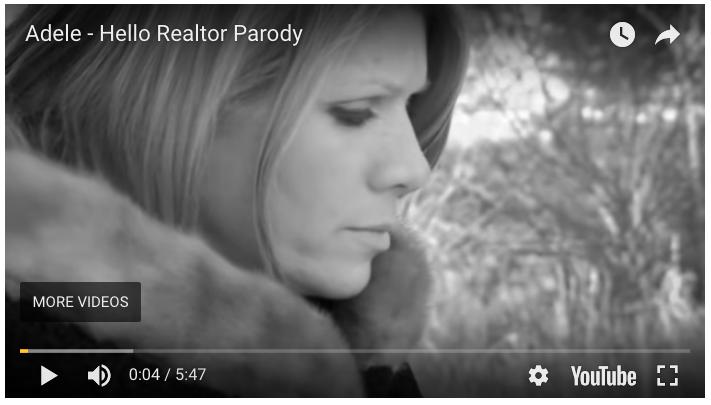 Adele Hello Realtor Parody - Outrageous Real Estate Marketing Ideas
