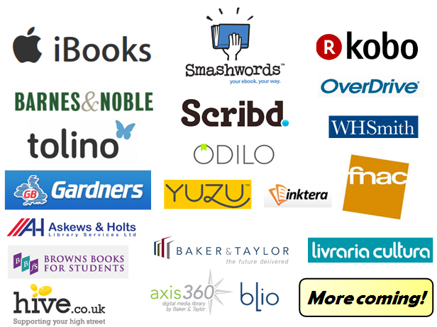 Kindle Direct Publishing vs Smashwords review -- Smashwords distribution marketplaces