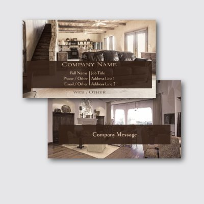 Remodeling Theme - construction business cards