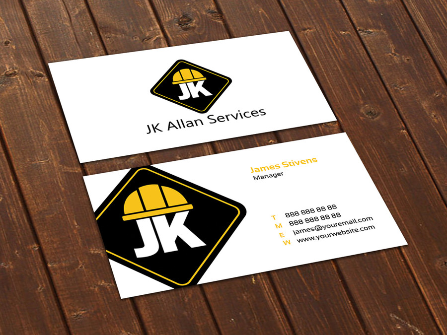 Prominent Logo - construction business cards