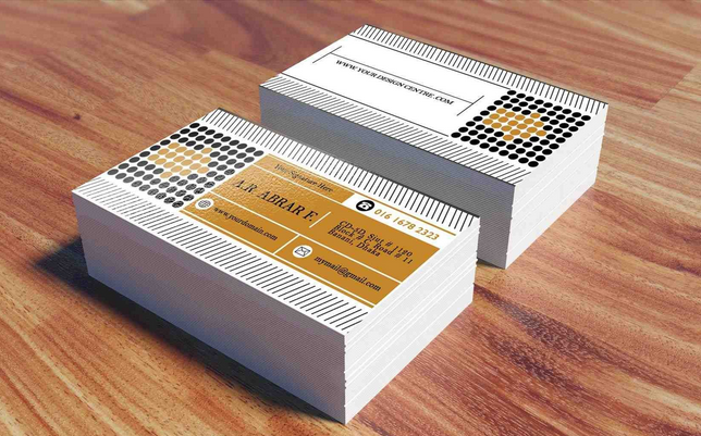 Modern Construction - construction business cards