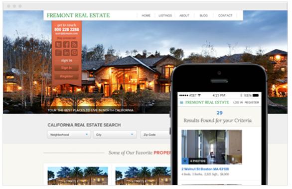 Placester (IDX Real Estate Website Builder) - real estate agency software