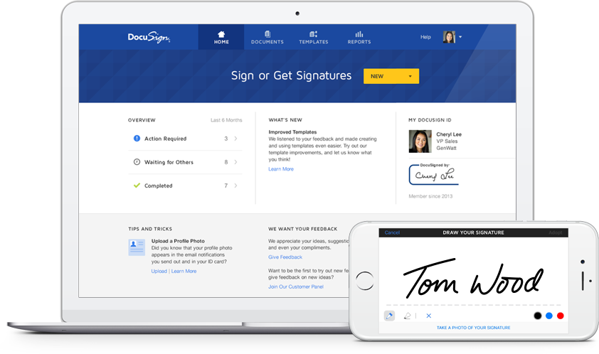how to set up electronic signature in adobe