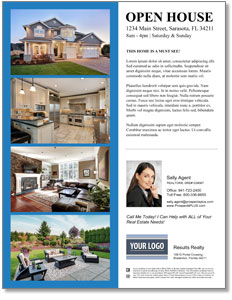 ProspectsPlus Flyers - open house invitation - tips from the pros