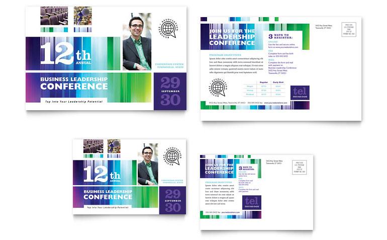 Consultancy Service Postcard Templates - Postcard Template