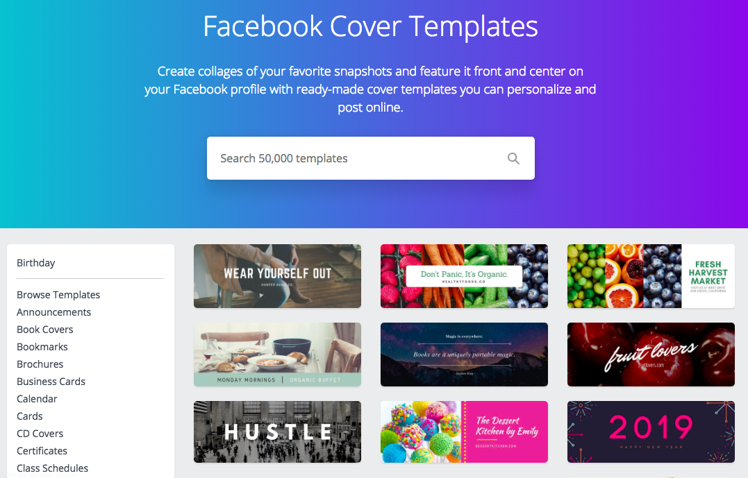 10 Free Facebook Business Page Templates