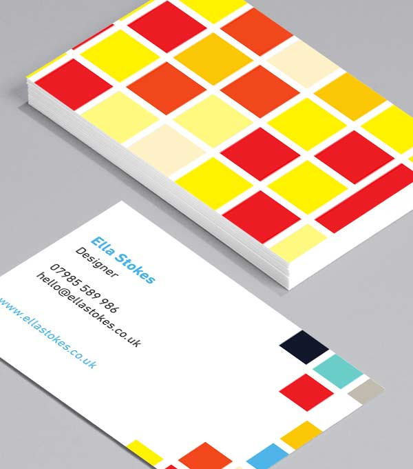 Big Pixels Design - graphic designer business cards
