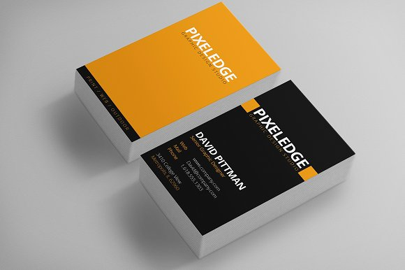 Balanced Color - graphic designer business cards