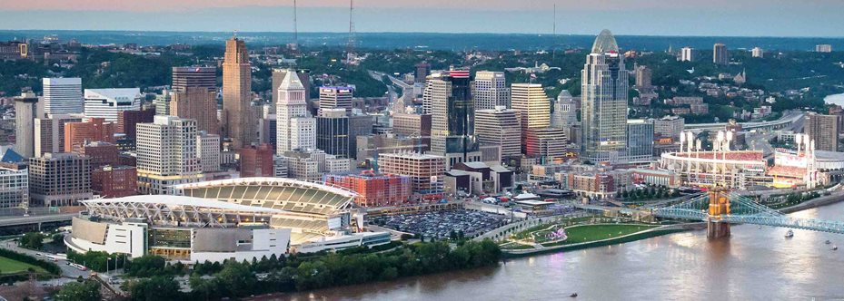 Cincinnati, OH - best cities for work-life balance