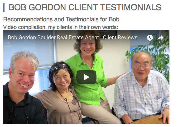 real estate agent testimonials examples