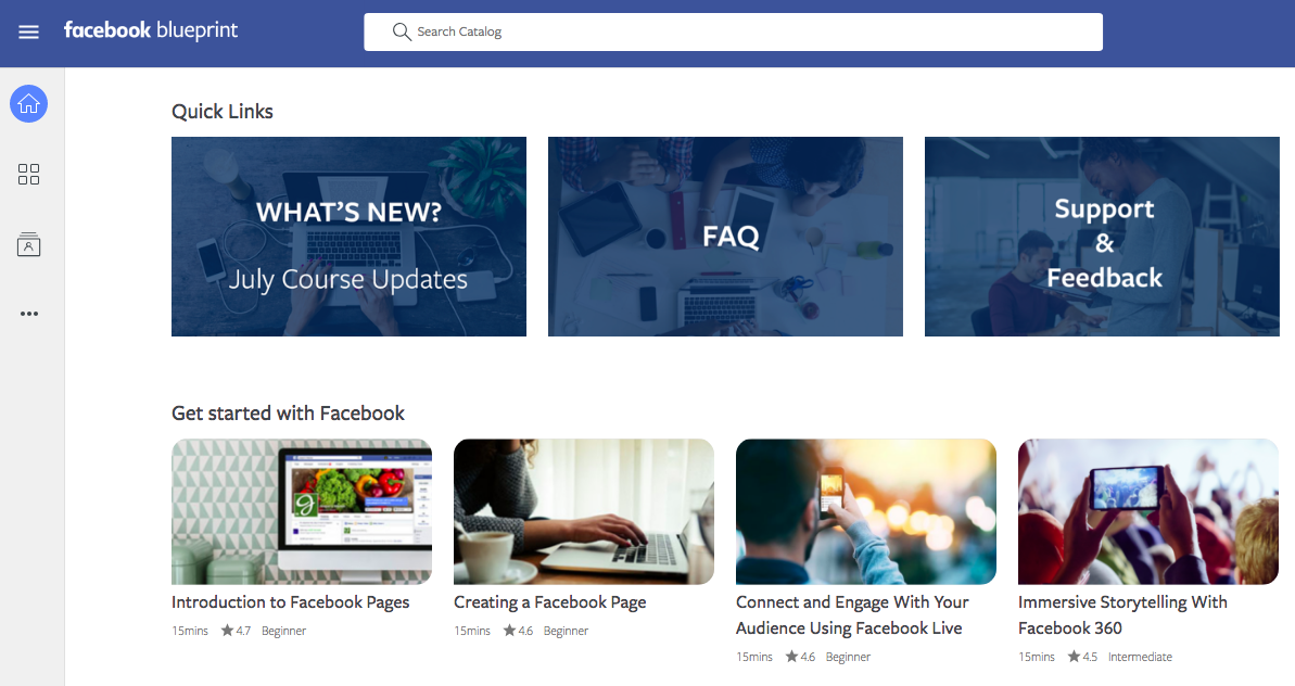 Facebook Blueprint - facebook tools