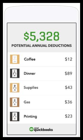 QuickBooks Self-Employed - business expense tracker