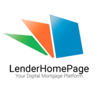 Lender Home Page - mortgage lead generation