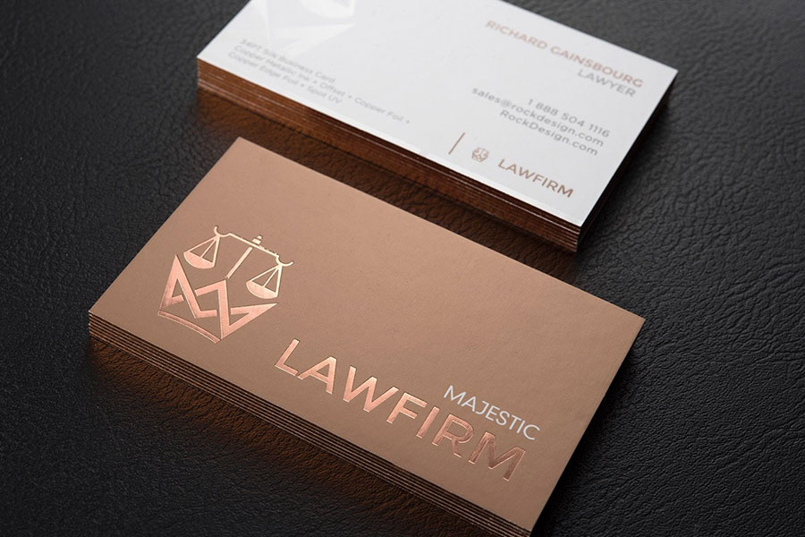 Top 25 Professional Lawyer Business Cards Tips & Examples