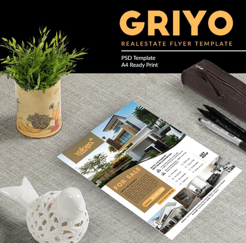 real Estate Flyers-GriyoRealEstateFlyer