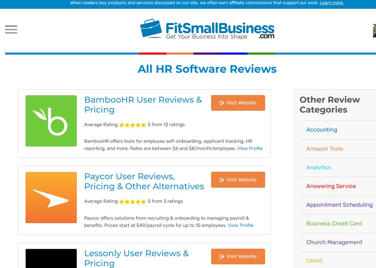 Top 25 Best HR Software, Tools & Apps
