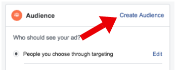 Create Audience for Facebook Sponsored Post - facebook sponsored posts