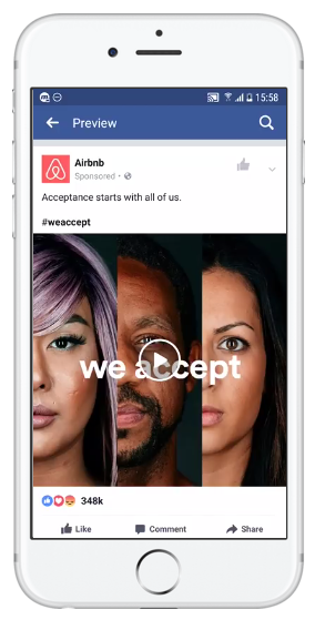 Single Video Ad on Facebook Mobile News Feed - facebook ad specs