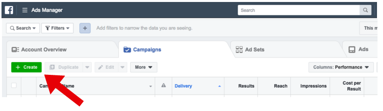 Facebook Ads Manager - facebook ad specs