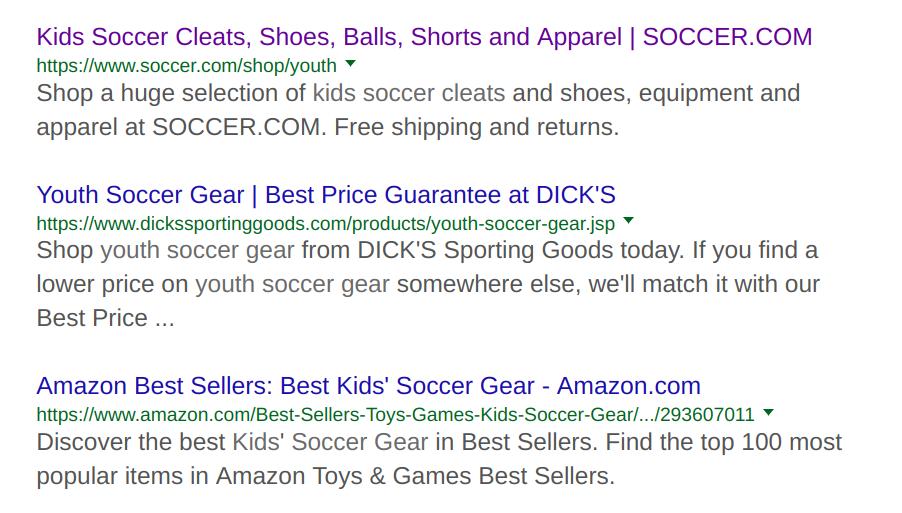 A goal of niche marketer - niche market