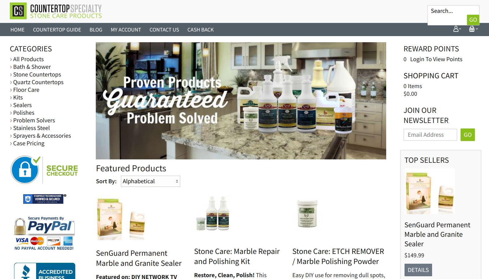 Countertop Specialty - niche market
