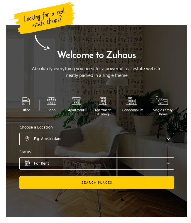 Zuhaus real estate wordpress themes