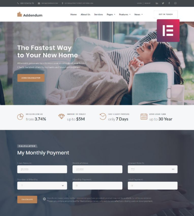 Addendum real estate wordpress themes